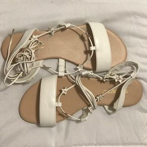 Lace up star Sandals.